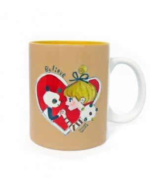 陶器マグカップ:ハート