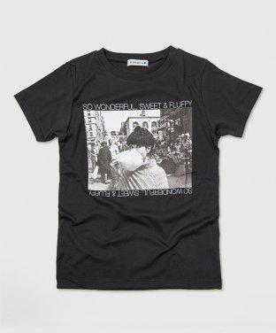 ニューヨークTシャツ:綿あめブラック