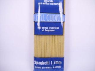ダル クオーレ社 パスタ スパゲッティ 1.7mm 500g イタリア産