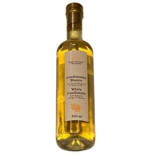 白バルサミコ酢 アンドレアミラノ DEL DUOMO ホワイトバルサミコ 500ml