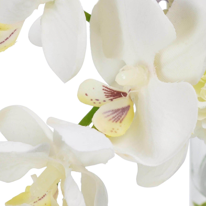 オーキッド&マム ウォーター供花 グリーン アーティフィシャルフラワー アートフラワー