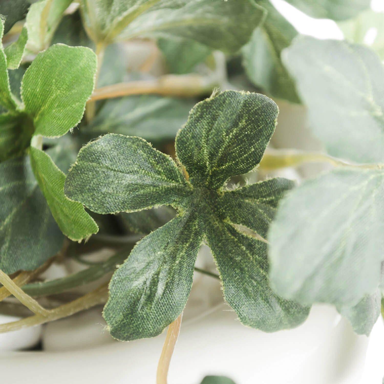 シュガーバイン 白陶器S フェイクグリーン