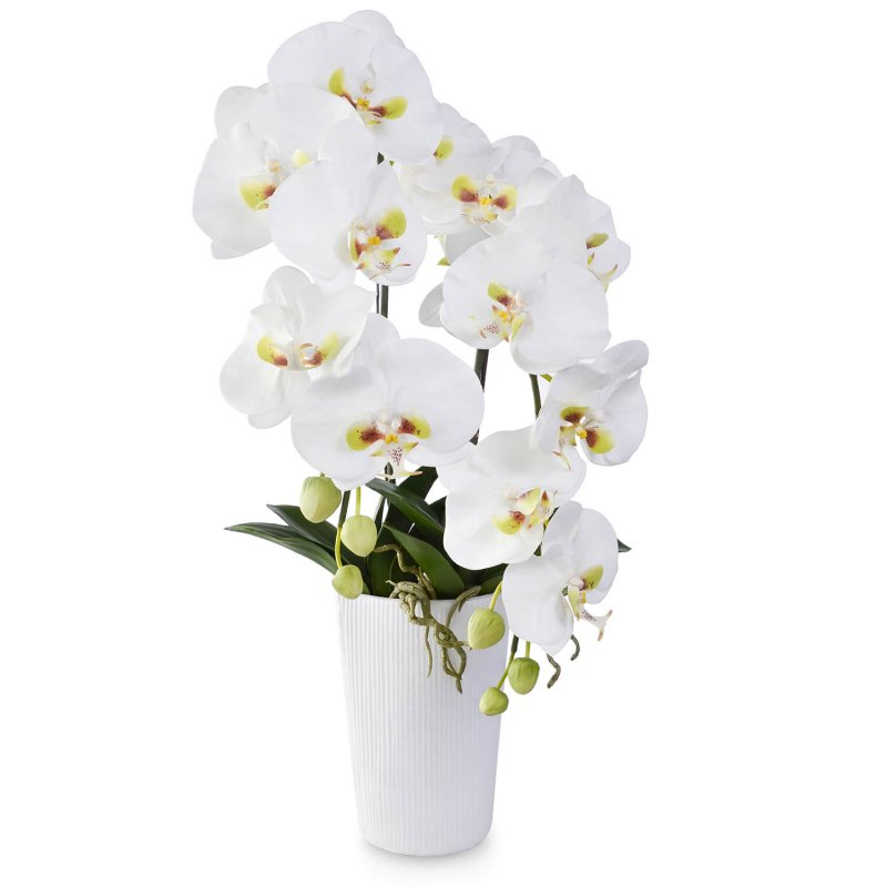 胡蝶蘭 供花 2本立ち アーティフィシャルフラワー アートフラワー