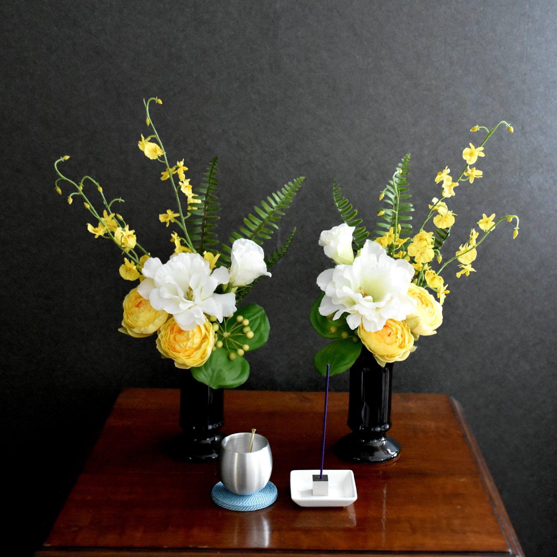 仏壇 供花 マス ミックスカラー アーティフィシャルフラワー アートフラワー