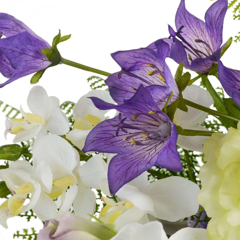 キキョウ トルコキキョウ 供花 横型 アーティフィシャルフラワー アートフラワー