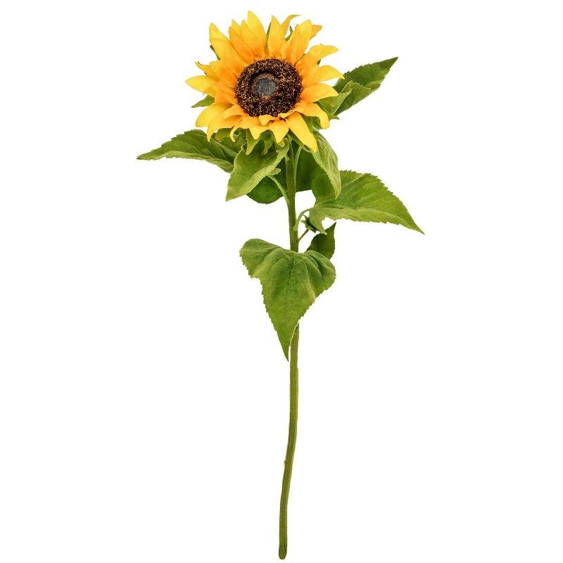 ヒマワリ 単品花材 H80 アーティフィシャルフラワー アートフラワー