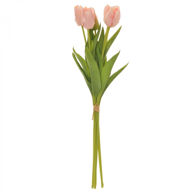 チューリップ 1束7本 単品花材 PK/LT アーティフィシャルフラワー アートフラワー