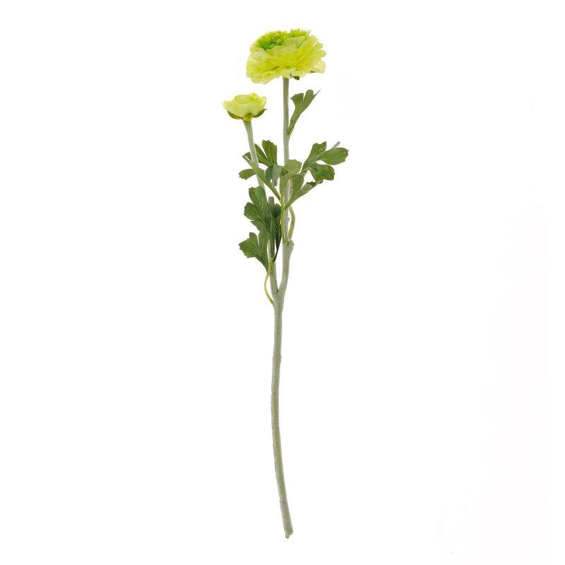 ラナンキュラス グリーン 単品花材 アーティフィシャルフラワー アートフラワー