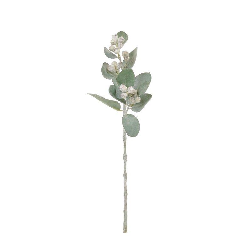 スノーユーカリ 単品花材 H40 アーティフィシャルフラワー アートフラワー