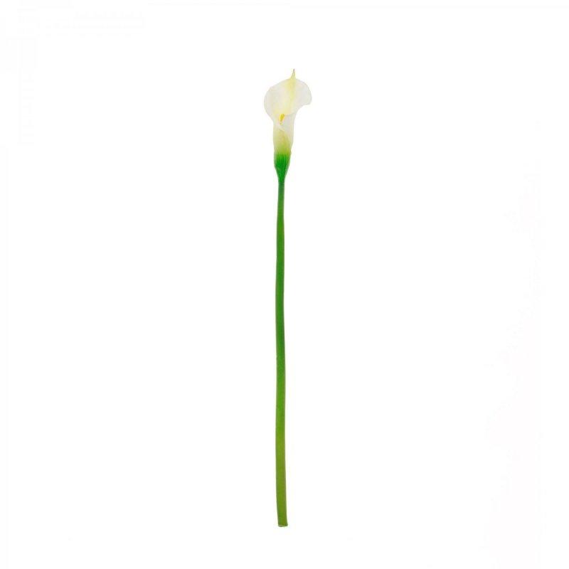 カラーリリィM クリーム 単品花材 アーティフィシャルフラワー アートフラワー
