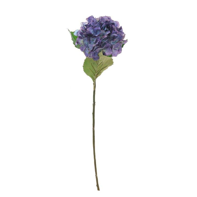 あじさい ブルーパープル 単品花材 アーティフィシャルフラワー アートフラワー
