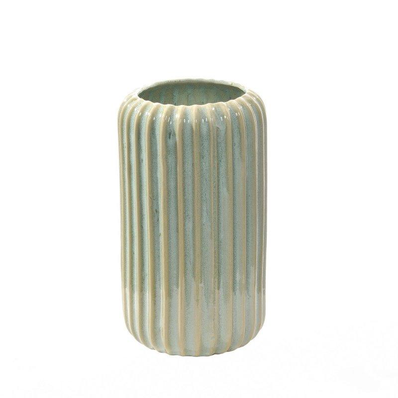 ストレートラインベースM 単品ベース H27cm 花器 フラワーベース