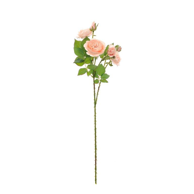 ワイルドローズ ピンク 単品花材 H68 アーティフィシャルフラワー アートフラワー