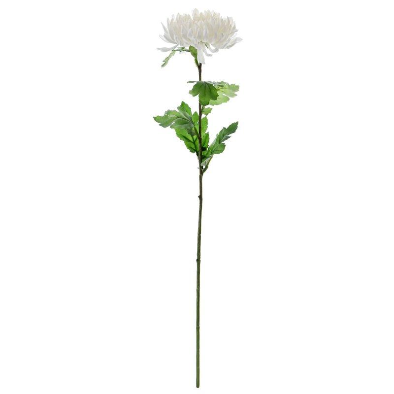 マム 菊 M ホワイト 単品花材 アーティフィシャルフラワー アートフラワー