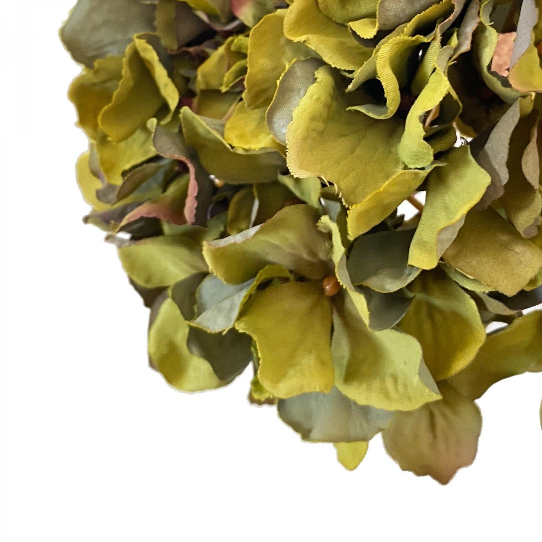 ハイドランジア 紫陽花 グリーン 単品花材 アーティフィシャルフラワー アートフラワー