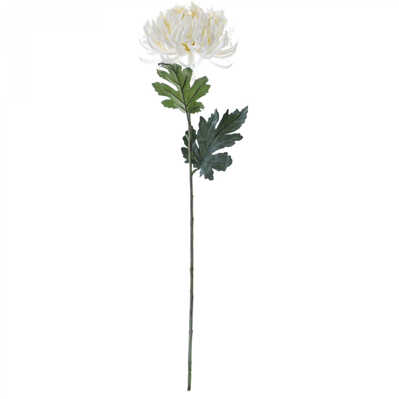 マム 菊 L ホワイト 単品花材 アーティフィシャルフラワー アートフラワー