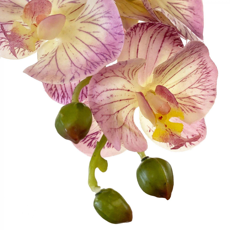 ファレノプシス 胡蝶蘭 ピンク 単品花材 アーティフィシャルフラワー アートフラワー