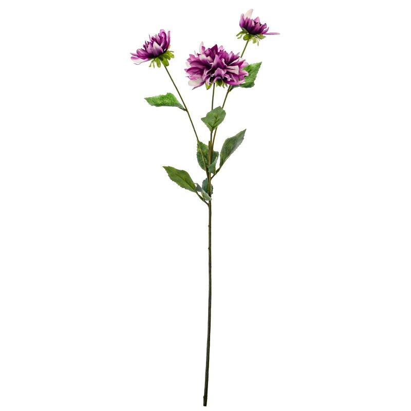 ダリア パープル 単品花材 アーティフィシャルフラワー アートフラワー