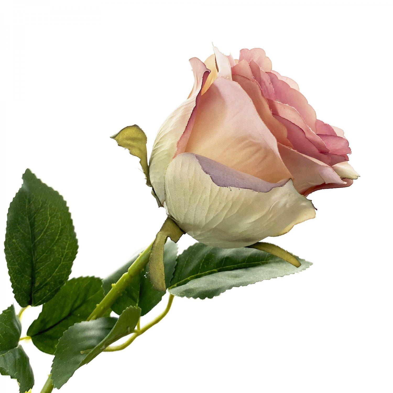 ローズ 薔薇 モーブピンク 単品花材 アーティフィシャルフラワー アートフラワー