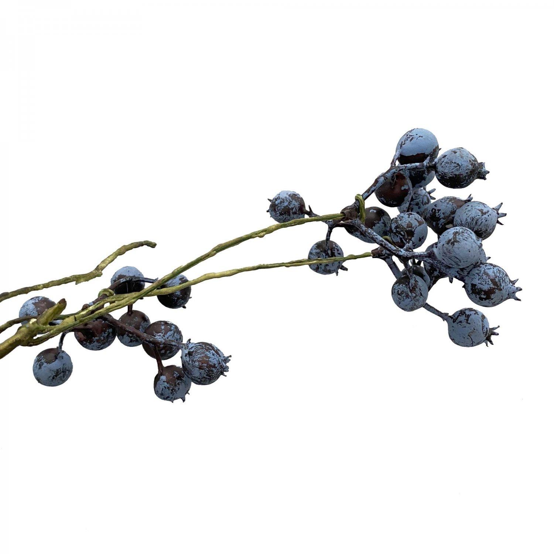 ベリースプレー ブルー 単品花材 アーティフィシャルフラワー アートフラワー