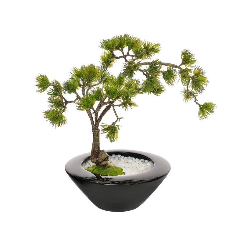 松 大鉢 CUPBON 盆栽 フェイクグリーン