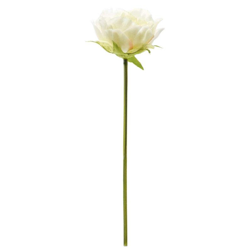 ローズ 薔薇 ホワイト 単品花材 アーティフィシャルフラワー アートフラワー