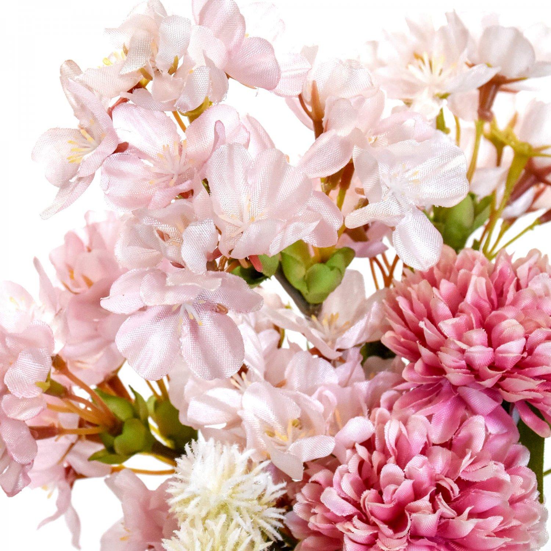 桜の手まりベースアレンジ 染井吉野ホワイト