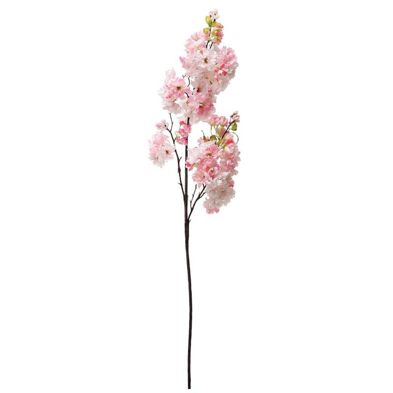八重桜 八分咲き ライトピンク  単品花材