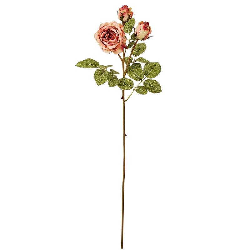 蕾つきローズ 薔薇 ソフトピンク 単品花材