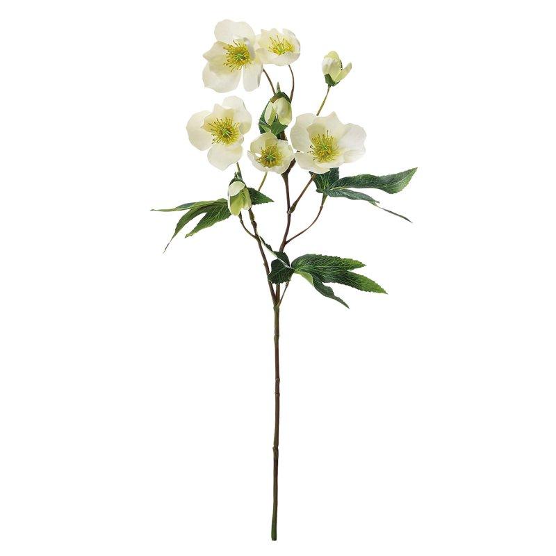 クリスマスローズ クリーム 単品花材 アーティフィシャルフラワー アートフラワー