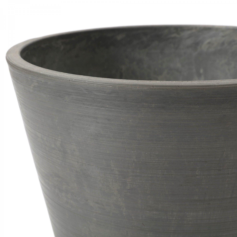 ゴールドクレストM GWプランター gray H163cm フェイクグリーン【別倉庫直送品】