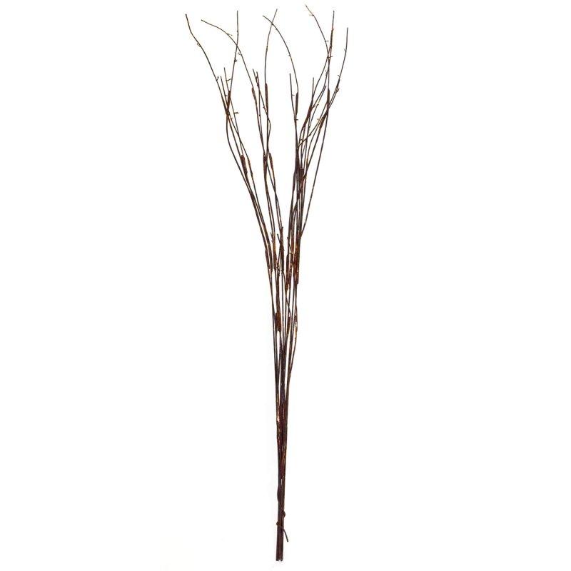 ウィローバンドル 9本 ブラウン 単品花材 アーティフィシャルフラワー アートフラワー