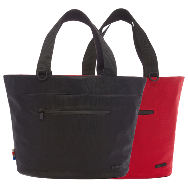 Cape Town Reversible Tote - Red/Black