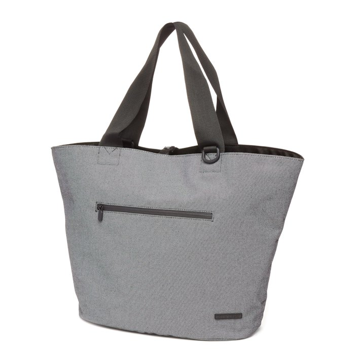 Cape Town Reversible Tote - Black/BW Twill