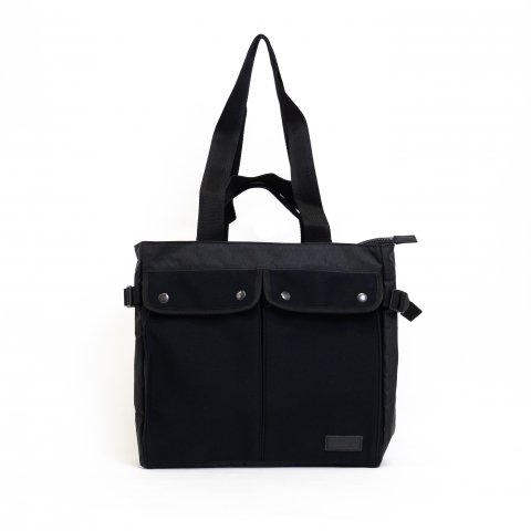 QUEENSLAND DOUBLE-HANDLE TOTE- Black
