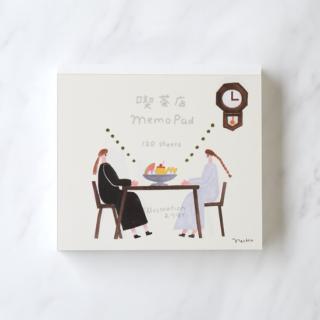 ネクタイ ブロックメモ【喫茶店MemoPad】