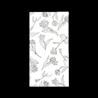 HUTTE.方眼スリムノート 【ホワイト】 37-321