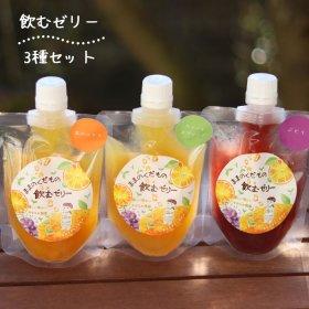 飲むゼリー【選べる3種】ママのみかんゼリー3本