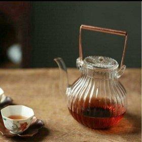 ティーポット 耐熱ガラス650ML  茶こし 急須 ケットル やかん ガラス瓶J2CHQB068