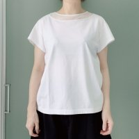 <img class='new_mark_img1' src='https://img.shop-pro.jp/img/new/icons55.gif' style='border:none;display:inline;margin:0px;padding:0px;width:auto;' />tsukinowa<BR>チュールネックTee