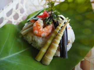 飛騨の朴葉寿司セット