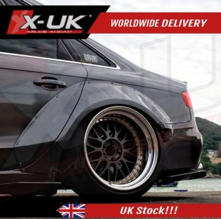 Audi A4 / S4 B8 2008-2012 wide body kit conversion fenders