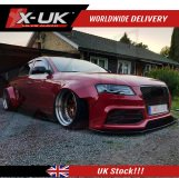 Lip kit extension for Audi A4 / S4 / RS4 2008-2012