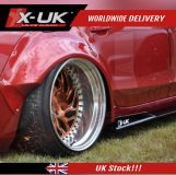 FRP side skirts extensions for Audi A4 / S4 / RS4 2008-2012 (B8)