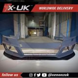 Front splitter for Audi A4 / S4 / RS4 B9 2015-2019