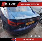 Rear spoiler for the Audi A4 S-line / S4 Saloon 2016-2018