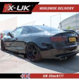 Side skirts extension lips for Audi A5 / S5 / RS5 2007-2016 (PAIR)