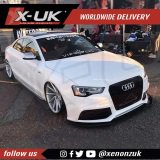 Front splitter / Lip for 2012-2015 X-UK RS5 style front bumper upgrade