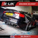 Audi S5 2013-2016 Sportback facelift rear diffuser FRP