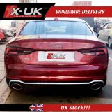 RS5 style rear bumper upgrade for Audi A5 / S5 2016-2019 Sportback